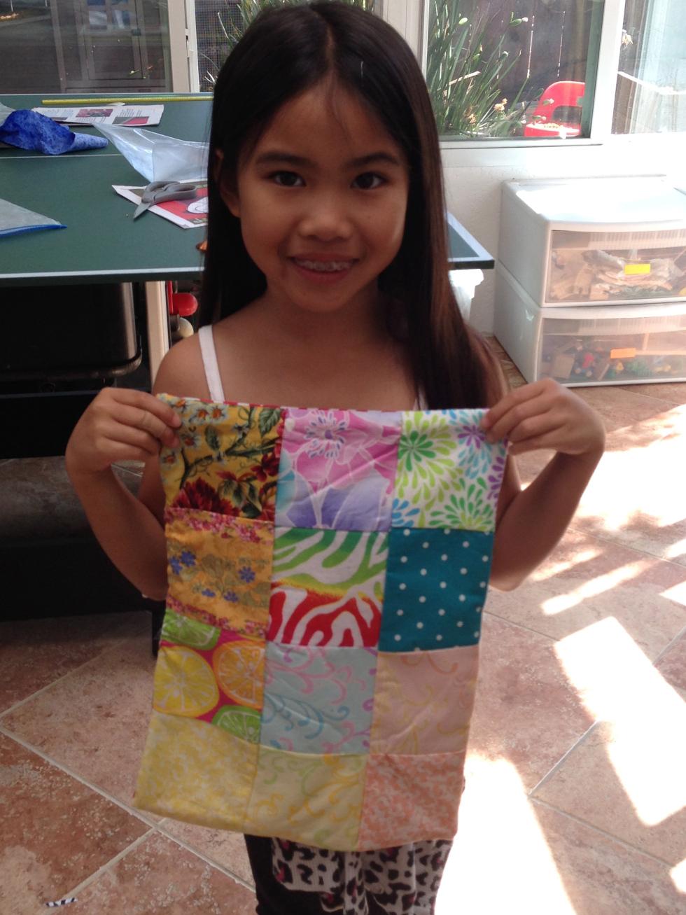 3rd grader quilt