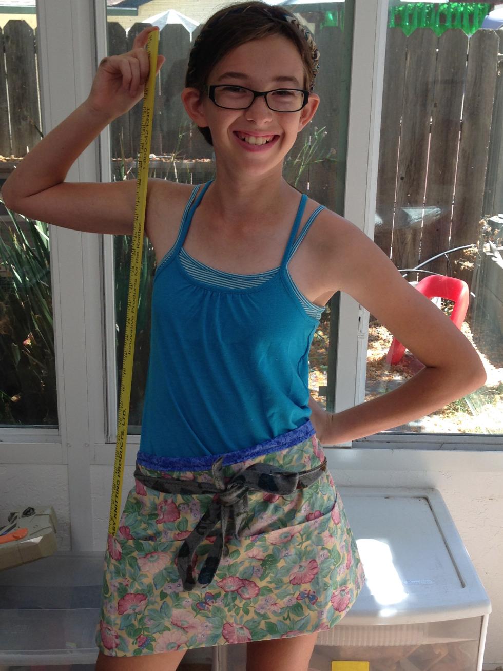 7th grader apron