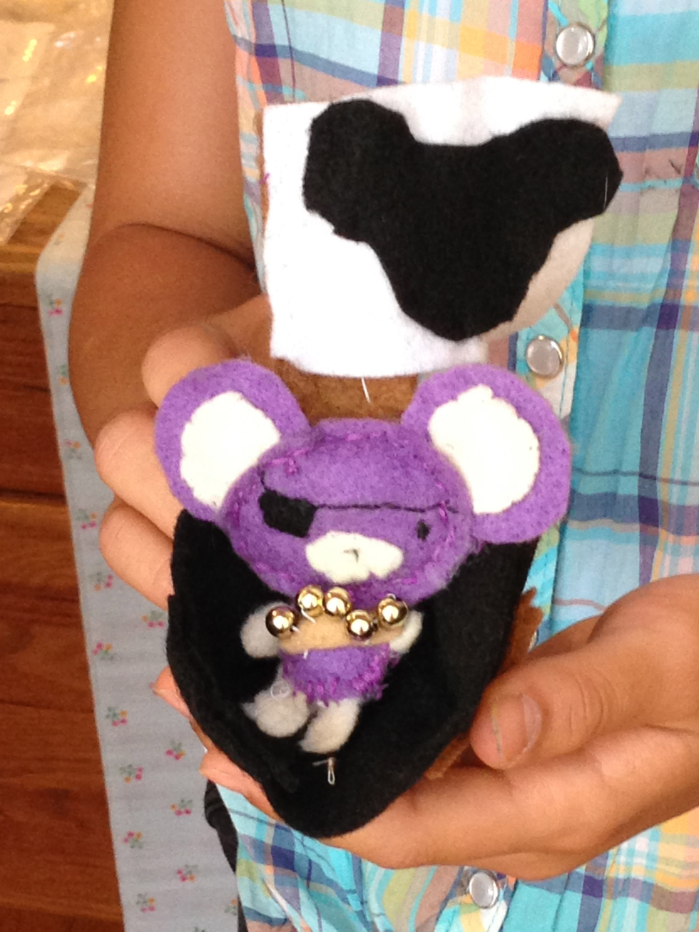 5th grader tiny pirate mouse needs a pirate ship!