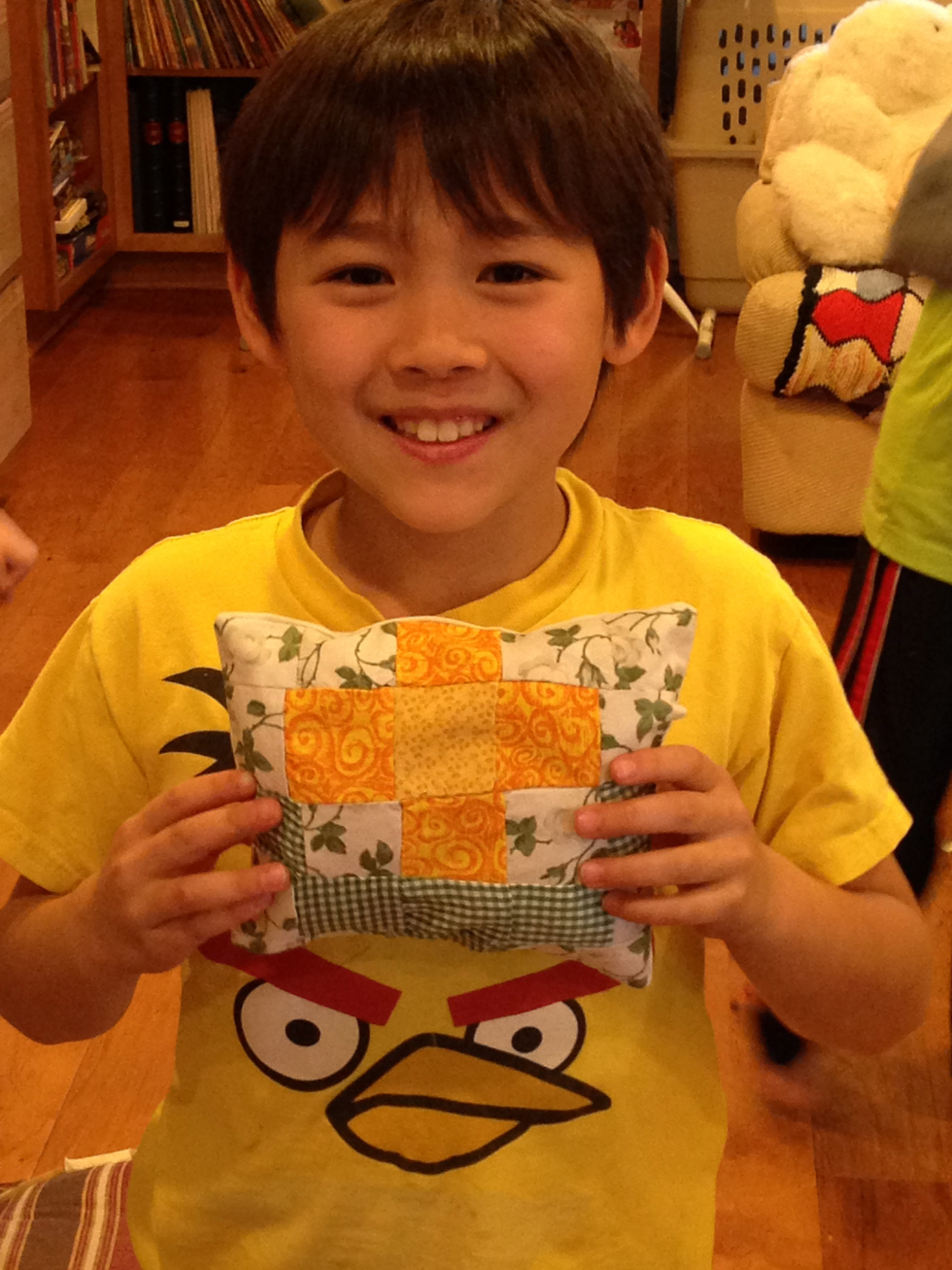 3rd grade finished pillow.