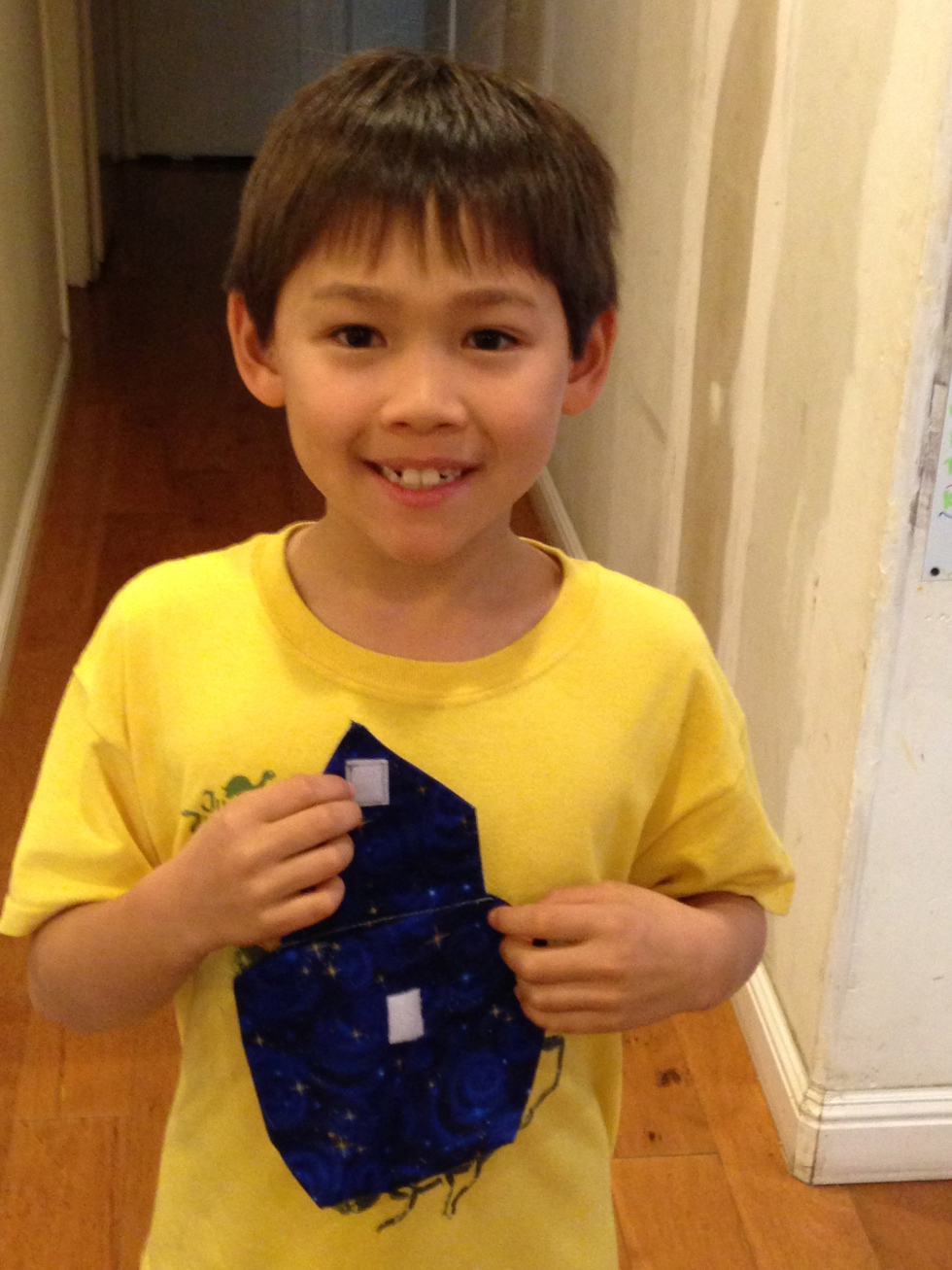 3rd grade pouch.