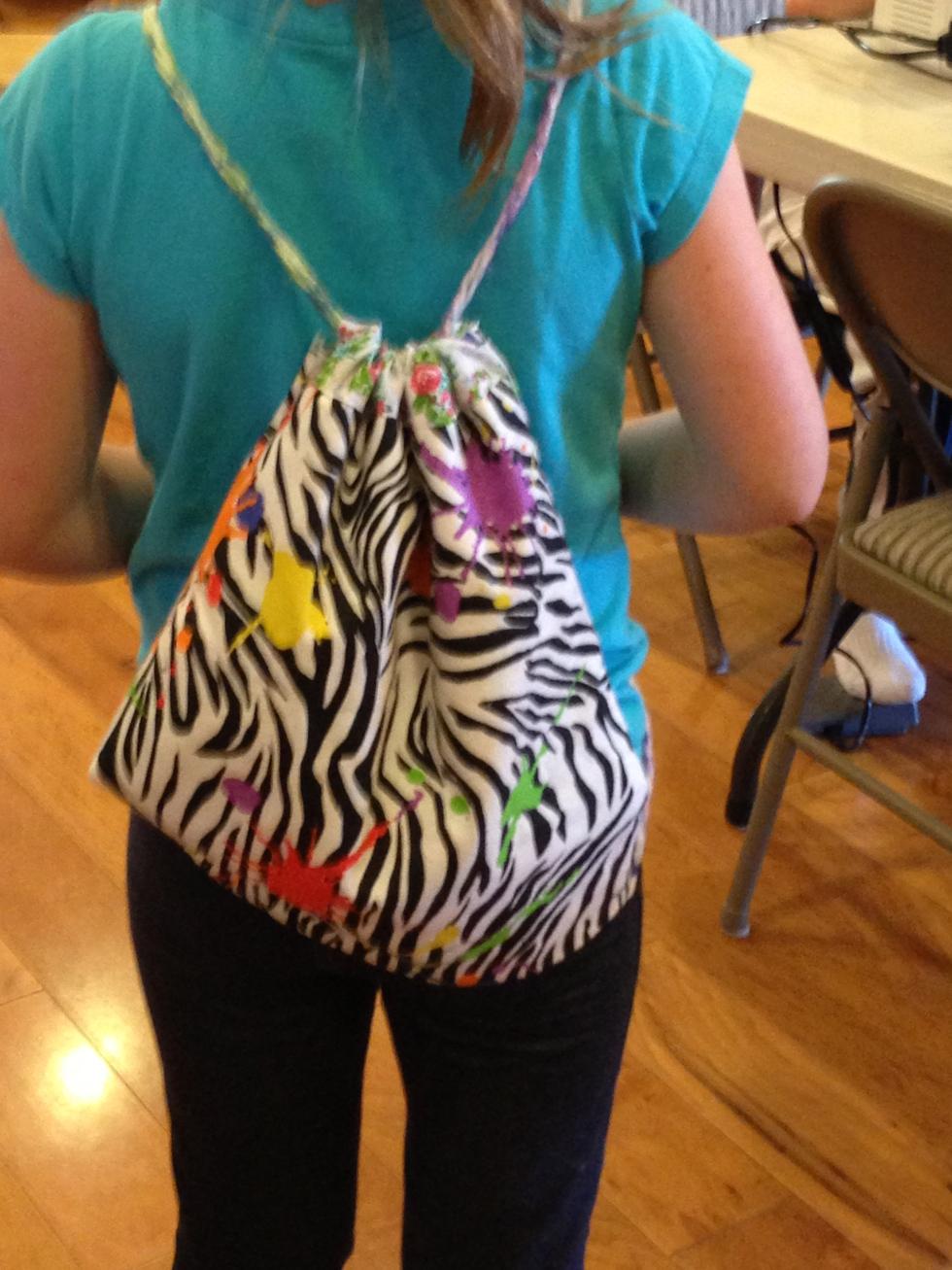 2nd grade back pack.