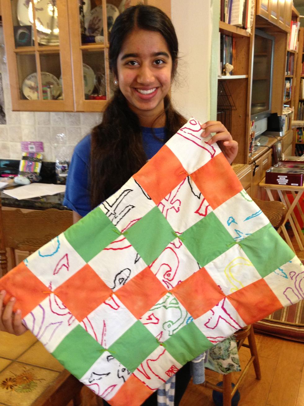 8th grade quilt.