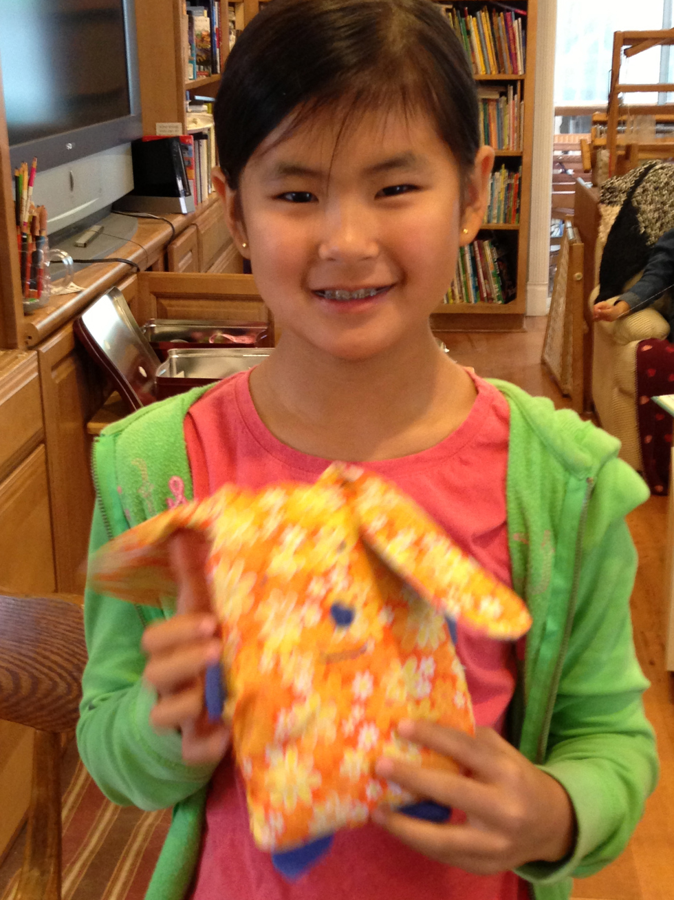 4th grade stuffed bunny.