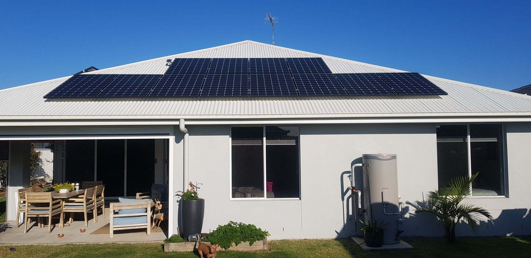 Residential installation in Ballina with LG335W modules