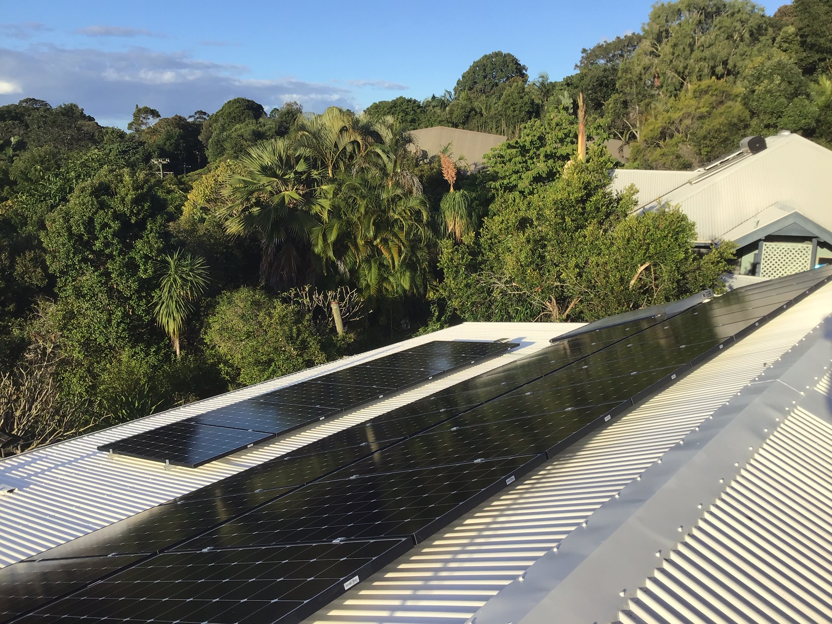 Residential Installation in Mullumbimby using LG340 modules
