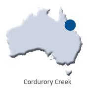ZINGA Cordurory Creek Map