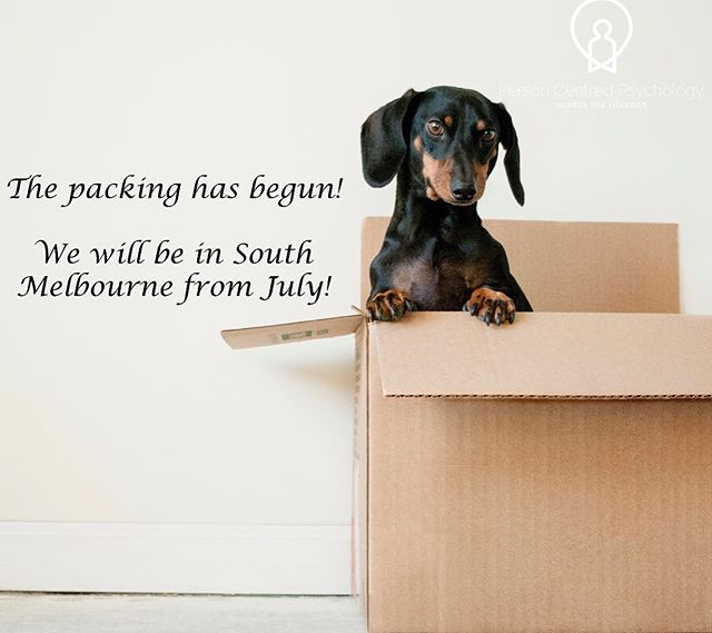 """😲 it's true!!! We are packing up our things, and moving to a bigger and brighter space in South Melbourne! We can't wait to join a wonderful community of health professionals there, and show our existing clients all the new things we will have for you in the coming months. If we haven't met you yet, when you see our signs go up come on in and say """"hi"""". 🤩🥳🤩 #southmelbourne #psychology #newthings #newhome #growth #change #exciting #dietitian #haes #mentalhealth #alliedhealth #personcentred #wellbeing #care #compassion #newneighbours"""