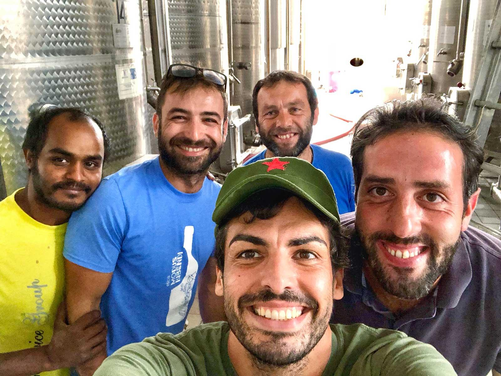 wine cellar elios nicola and guido