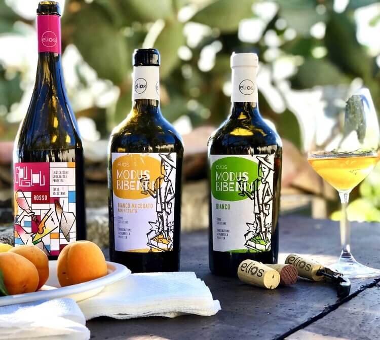 elios natural wines sicily