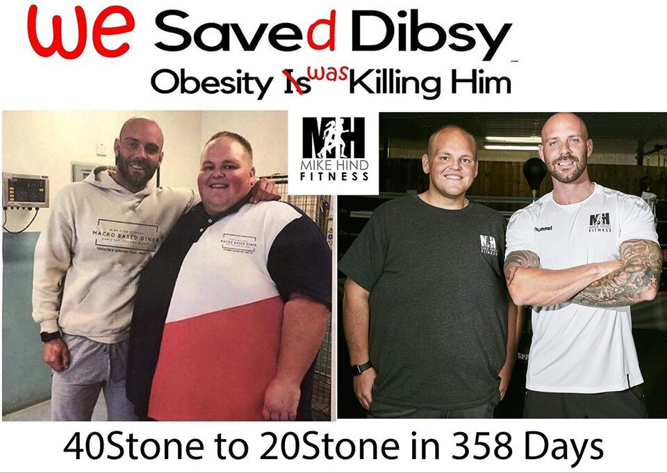 """20 Stone Lost In 358 Days"