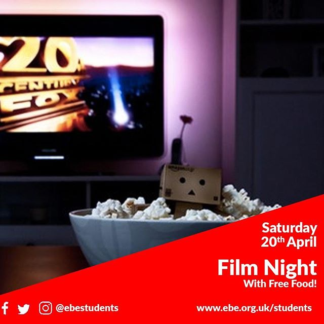 We're having a film night next Saturday. We'll decide what to watch together, but there will be lots of popcorn and drinks. Message us for details if you are interested in coming. #filmnight #movies #popcorn #bristol #students #uwe #uob