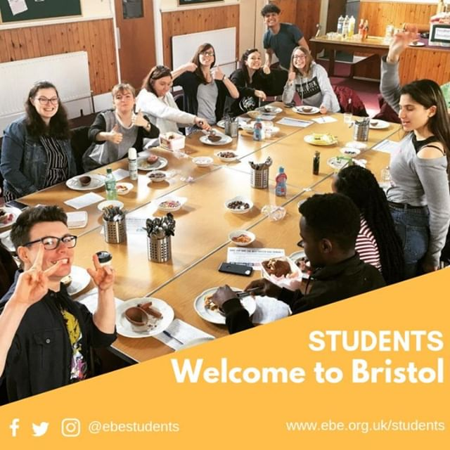 Looking forward to students moving back to #Bristol. Get in touch with us and one of student team can catch up with you when you are around. Check out www.ebe.org.uk/students for updates.⠀ . . .⠀ #HelloUWEBristol #uwefreshers