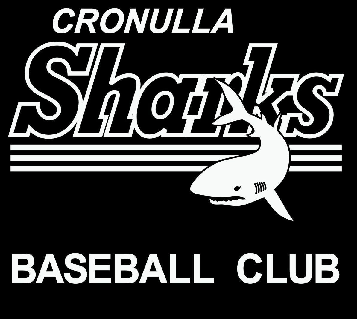 Cronulla Sharks Baseball Club Logo