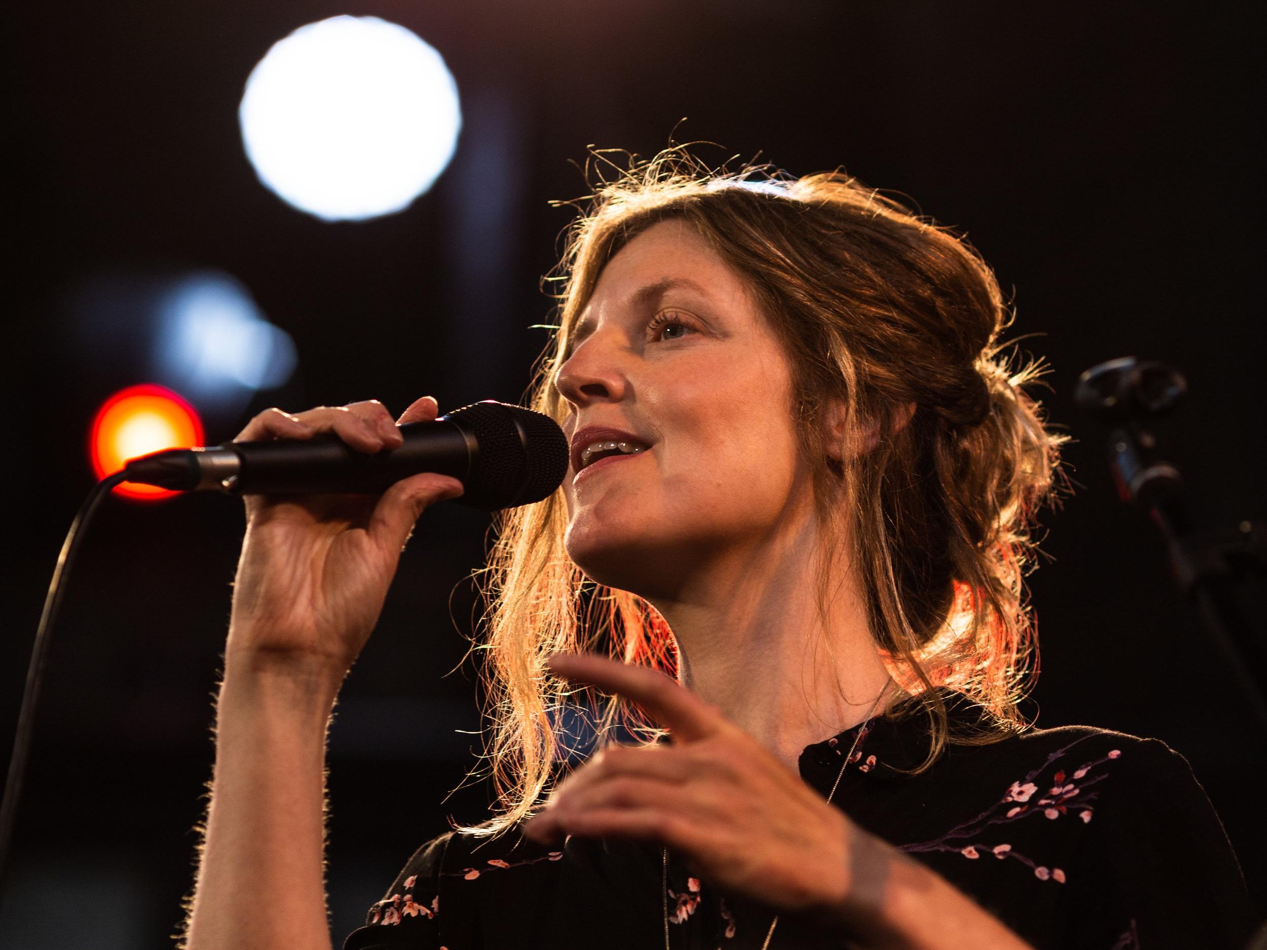 """Fine improvising vocalist - the powerful, freewheeling Lauren Kinsella"" - John Fordham, The Guardian"