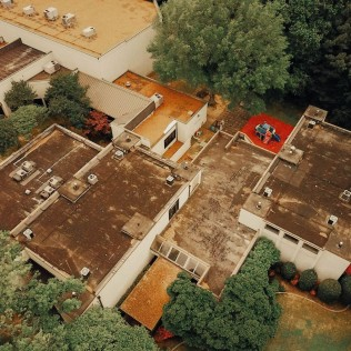 Commerical TPO Roofing - Before