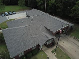 Bartlett Fire Station #4 - GAF Weathered Wood