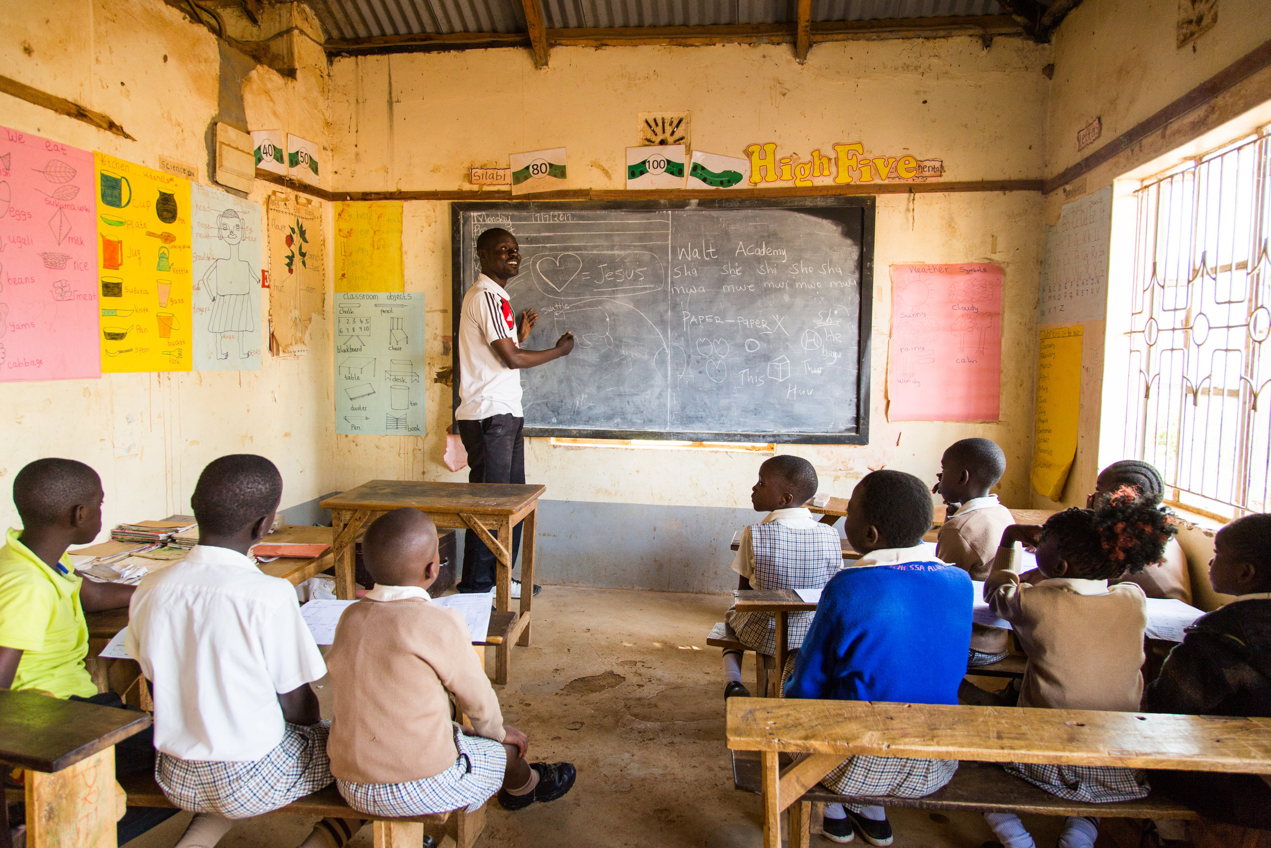 Denis empowers 50 teachers and 500 students … - 70 years old, Denis commits each day to helping others