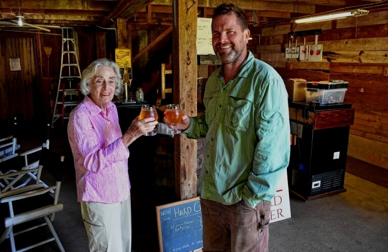 At 92, orchard owner starts a new hard cider business -