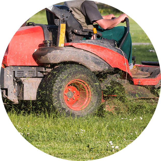 MAINTENANCE - Our sister company OmegaScapes will help you maintain your property with weekly mowing and detail crews.
