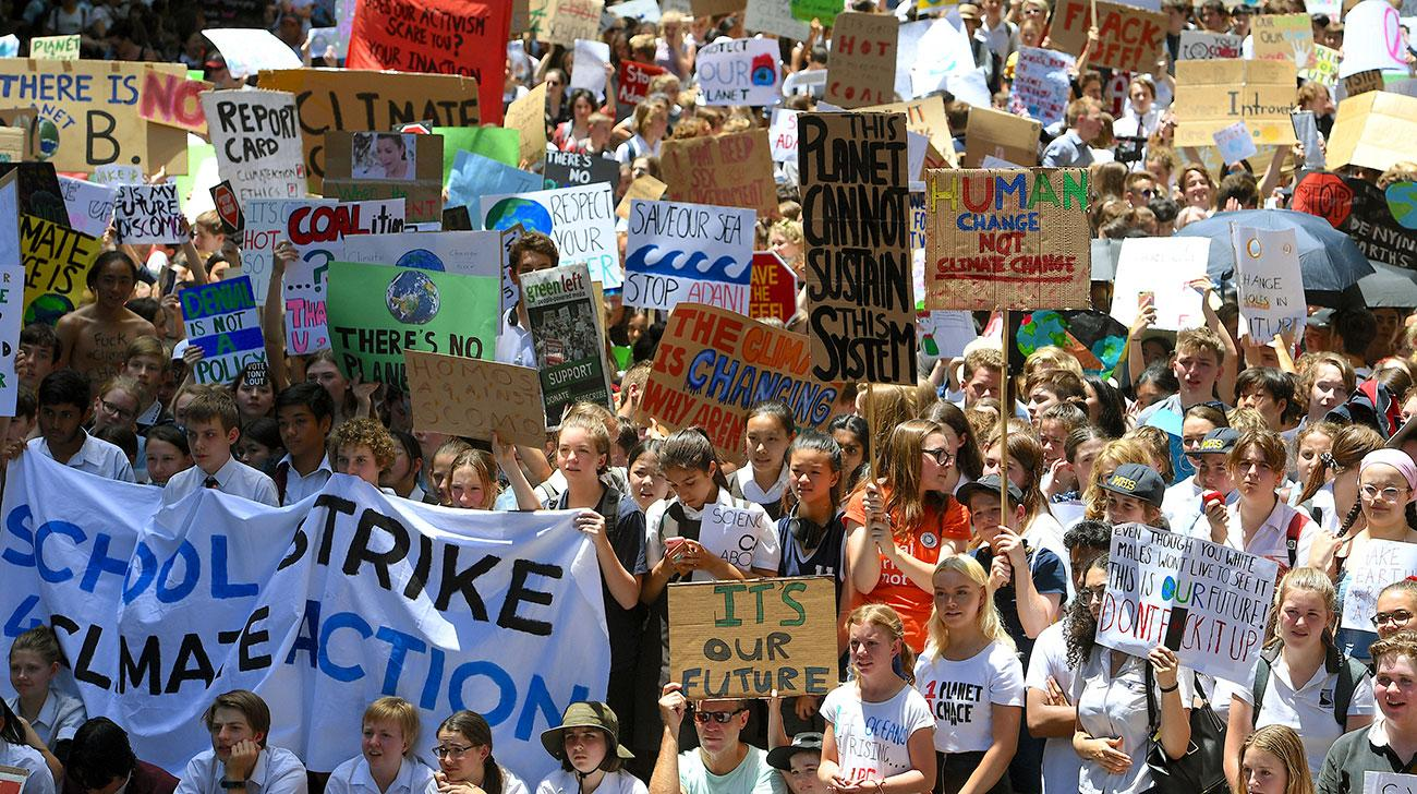 Over 20 000 students and workers marched in Sydney during the last Climate Strike, with higher numbers expected in September.