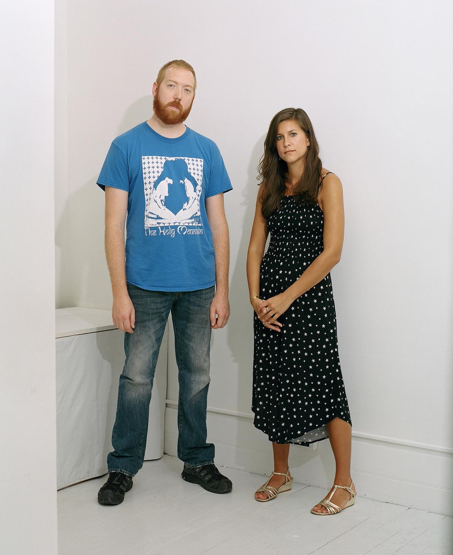 Gallery owners Ian Breidenbach and Emily Jay