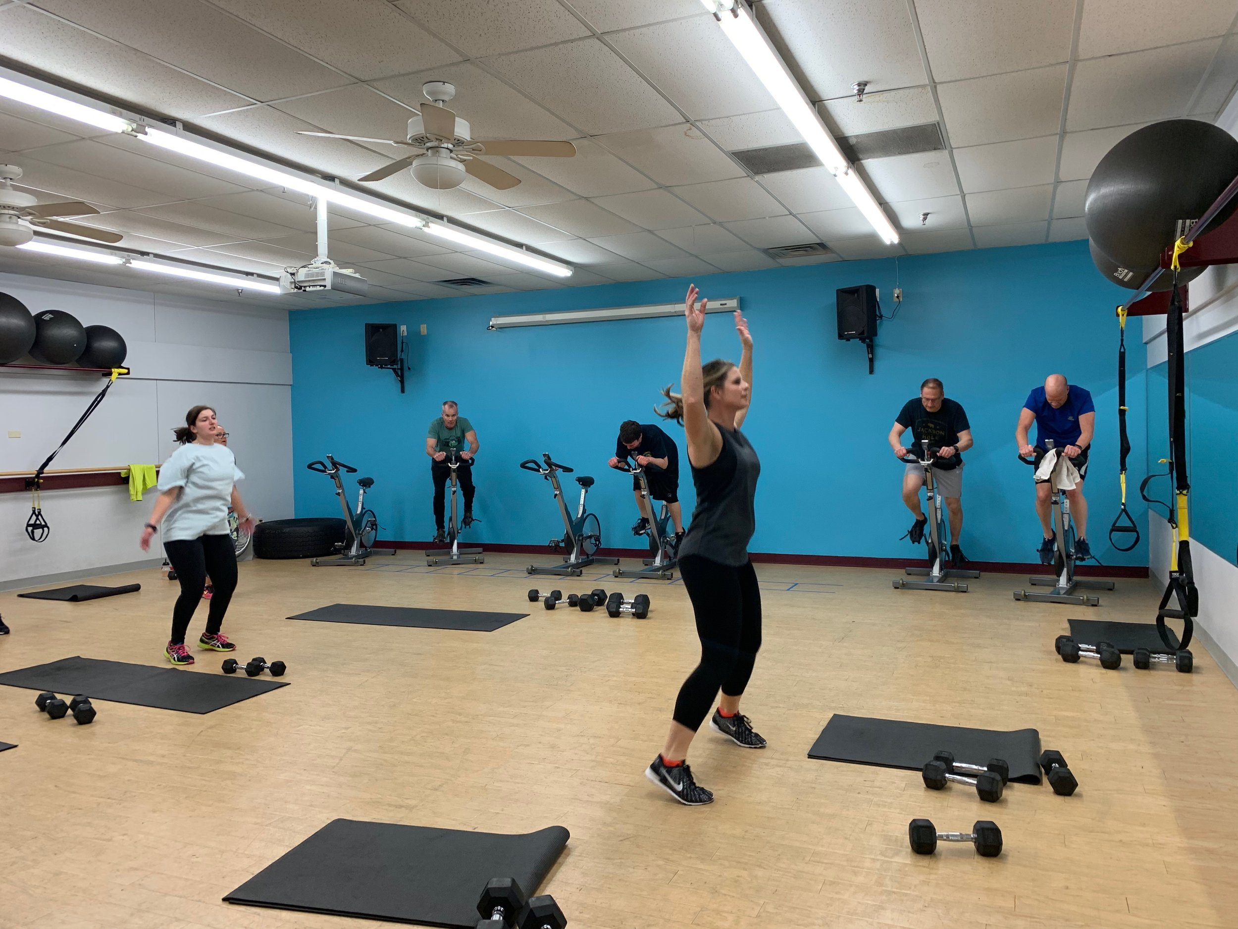 Interested in Group Fitness Classes? - Without the monthly gym membership fees?