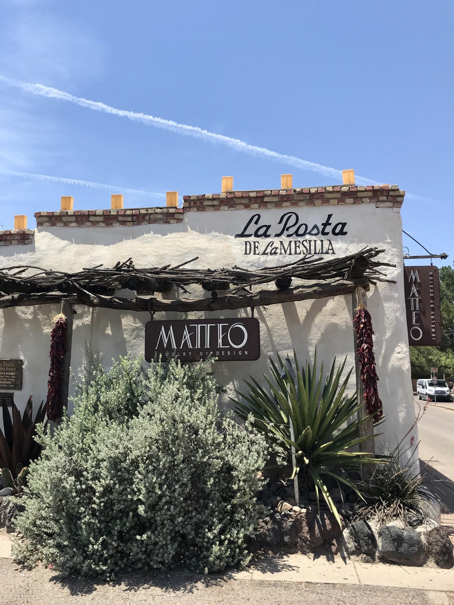 Exterior of restaurant La Posta.