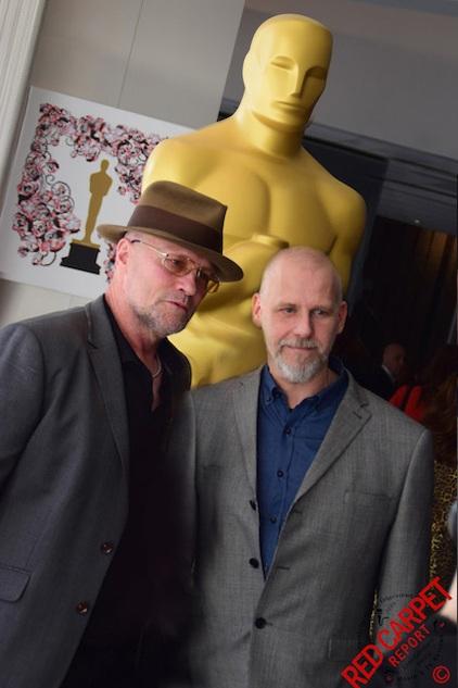 At the Oscars