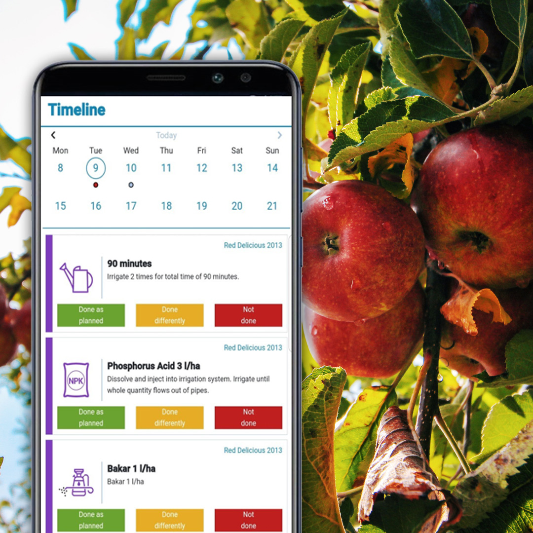 How it works? - MapMyApple uses the knowledge of agro-experts, but also modern technology to process huge amount of data on different variations in your orchard in real-time and provides apple growing plan adapted to your orchard needs.