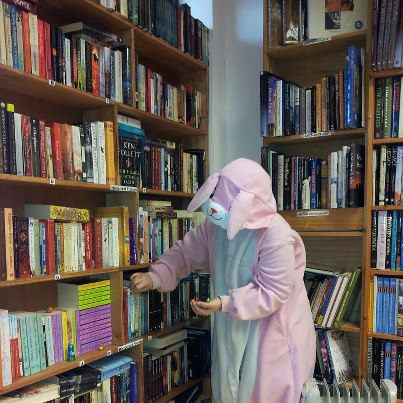 The Easter bunny hides chocolate eggs for an egg hunt after storytime!.jpg