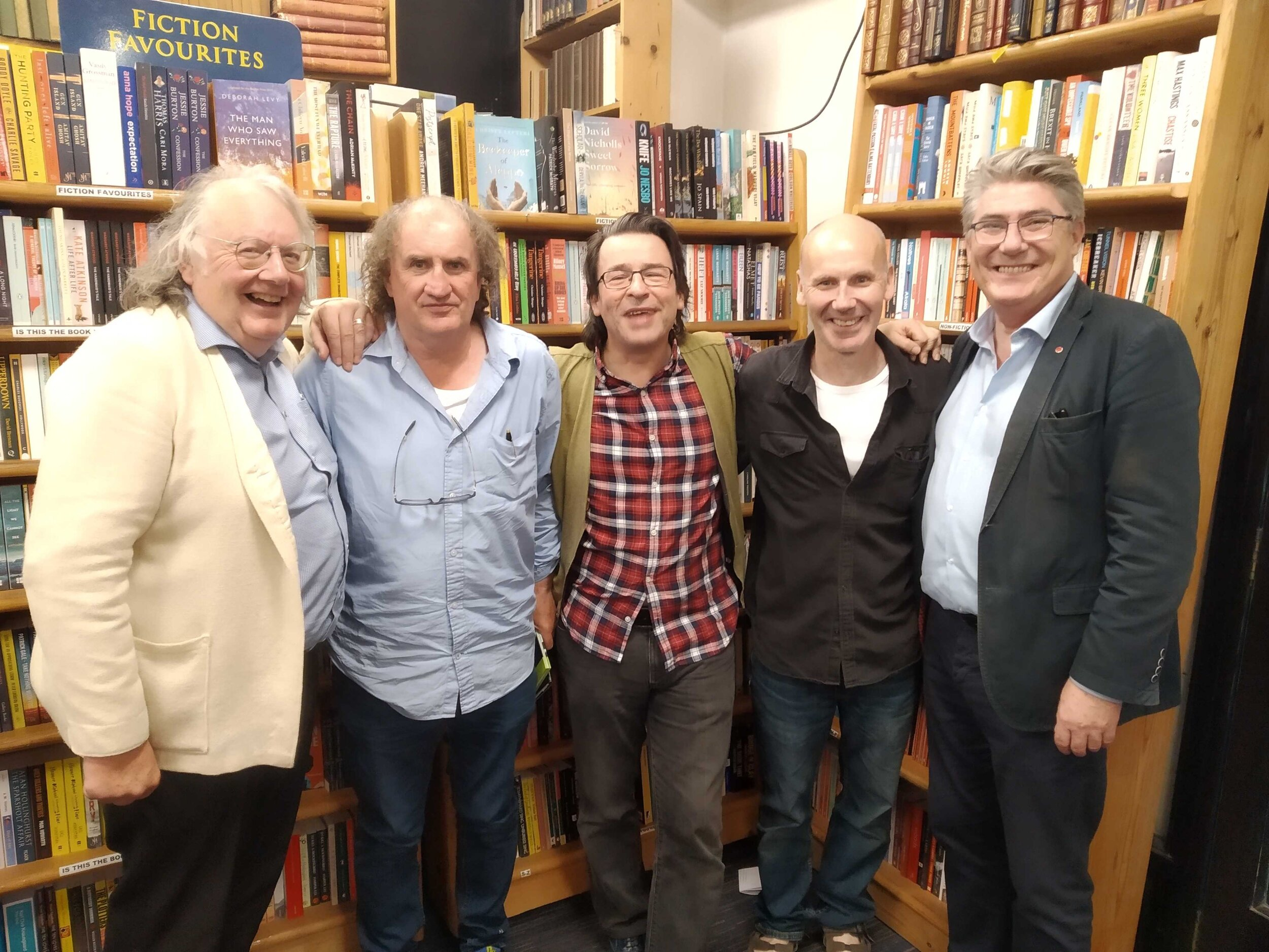 James Harrold (Arts Officer for Galway) Michael Gorman 'Fifty Poems', Vinny, Charlie and Gary Mc Mahon