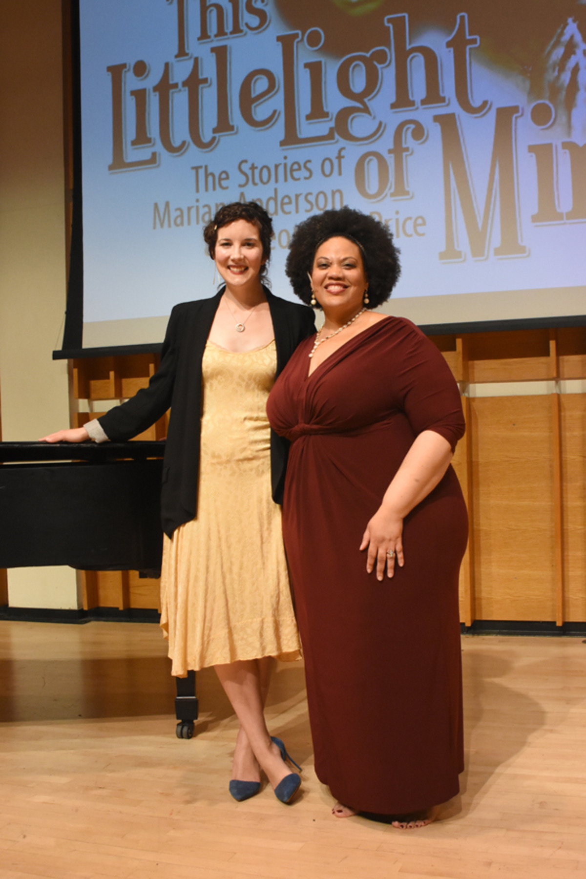 Pictured: Mila Henry and Adrienne Danrich Photo by Tina Buckman