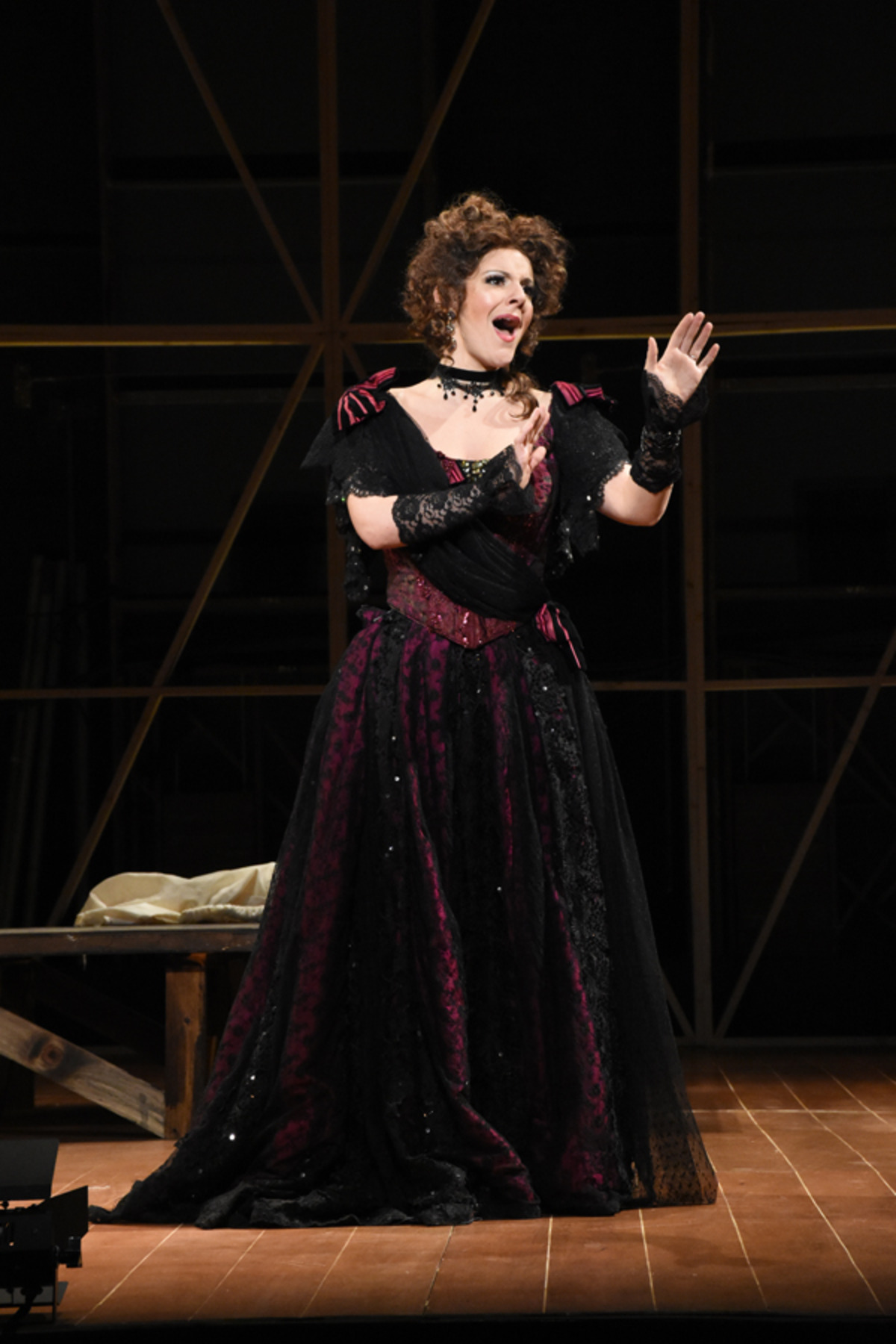 Nell Gwynn (S. Apostolou) auditions - Photo by Tina Buckman