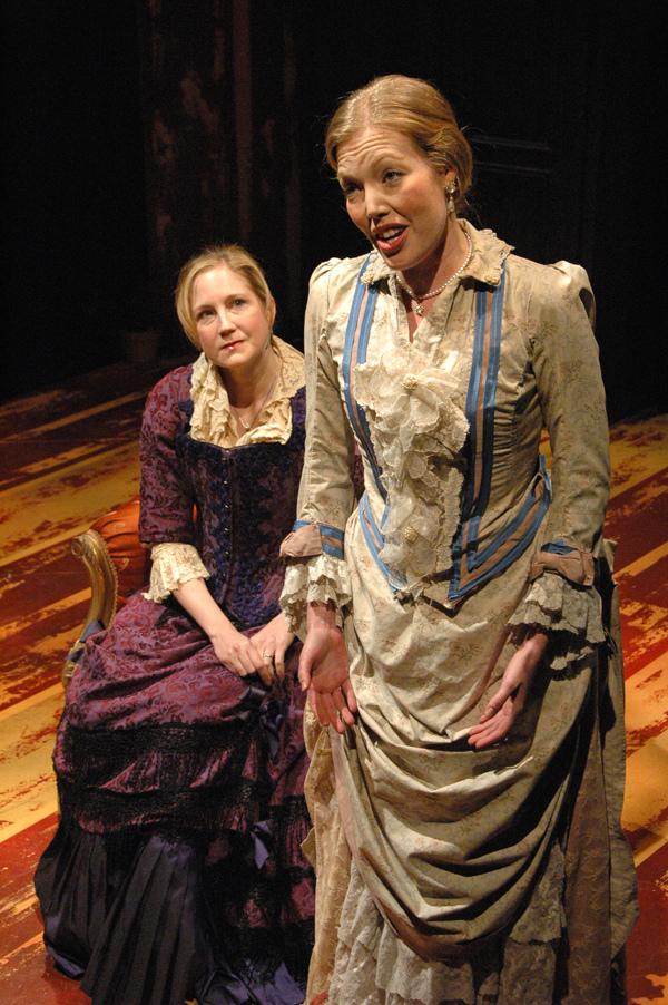 Mathurine (T. Buchholz) and Colette (J. Sandidge) - Photo by Tina Buckman