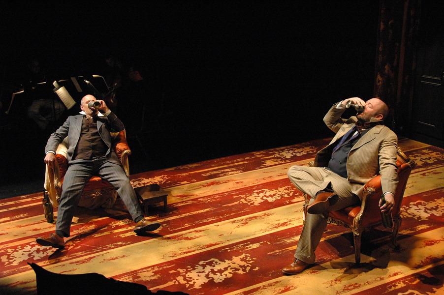 Mathurin (B. Downen) and Lucas (M. Singer) - Photo by Tina Buckman