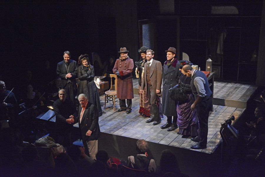 Curtain Call, L to R: Schreiner, Webb, Wilkins, Beckham-Turner, Milner, Roderer, Six, Boyd, Cordova, Floyd