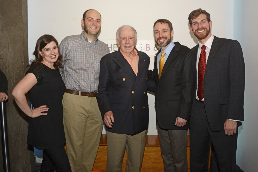 After Party, L to R: Mannino, Turner, Floyd, Tuell, Putnam