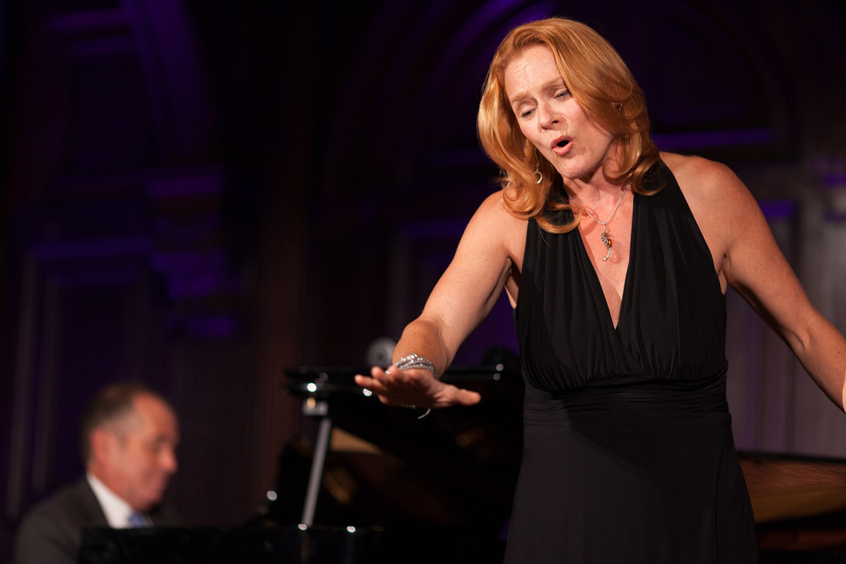 Special Guest Beverly O'Regan Thiele sings Floyd, with Music Director Richard Cordova at the piano