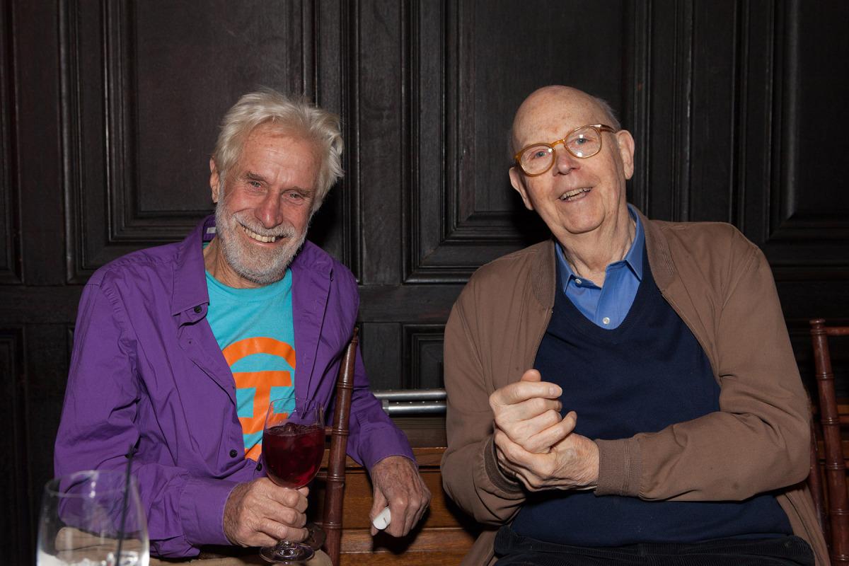 Guests Mark di Suvero & Claes Oldenburg