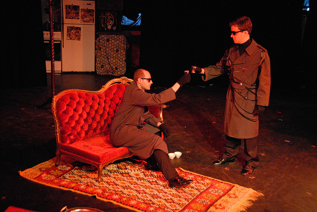 Two Officers (Tamagna & Breit) - Photo by Tina Buckman