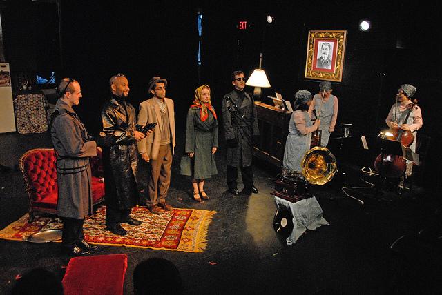 Full company - photo by Tina Buckman