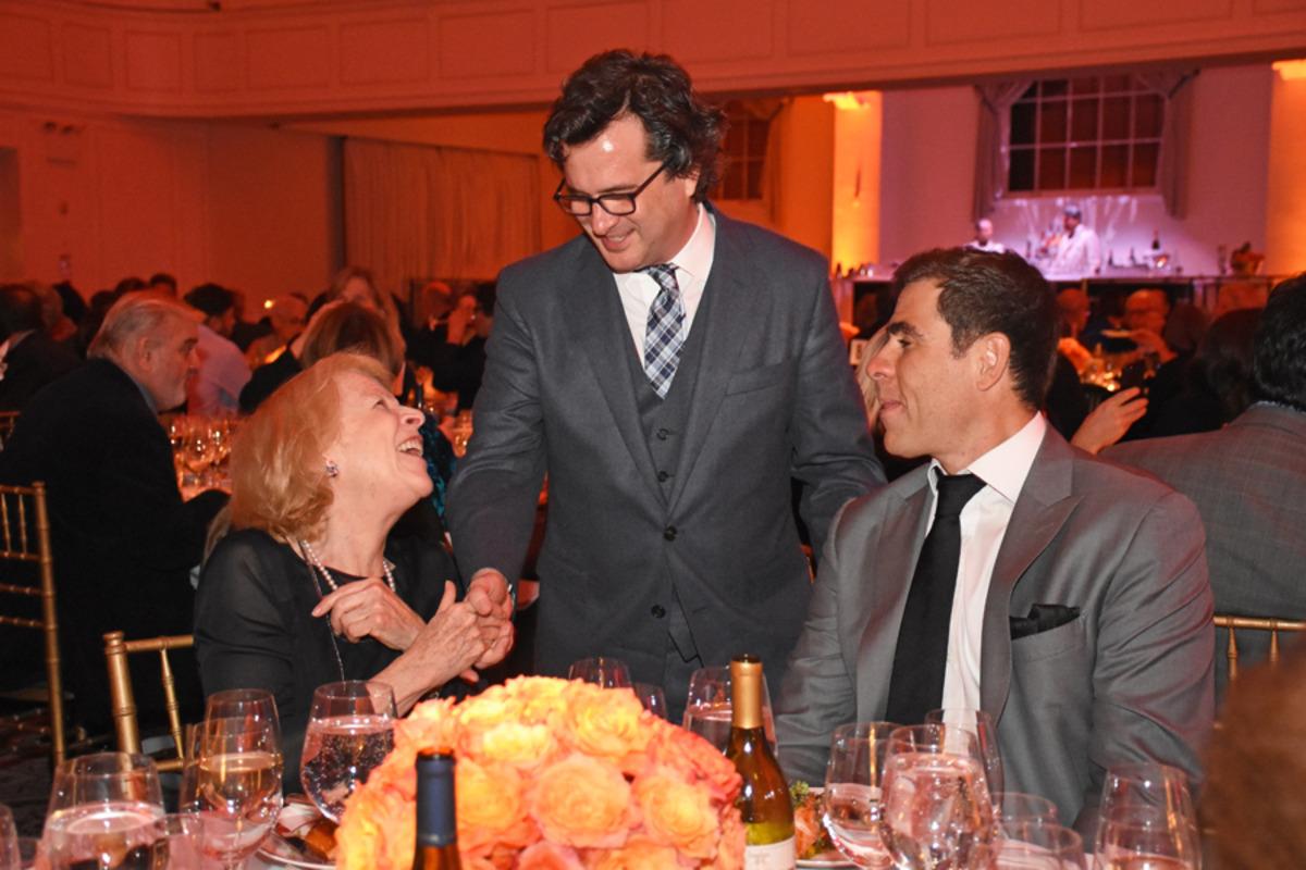 Jane Richards, Philip Shneidman, and Pedro Magalhaes