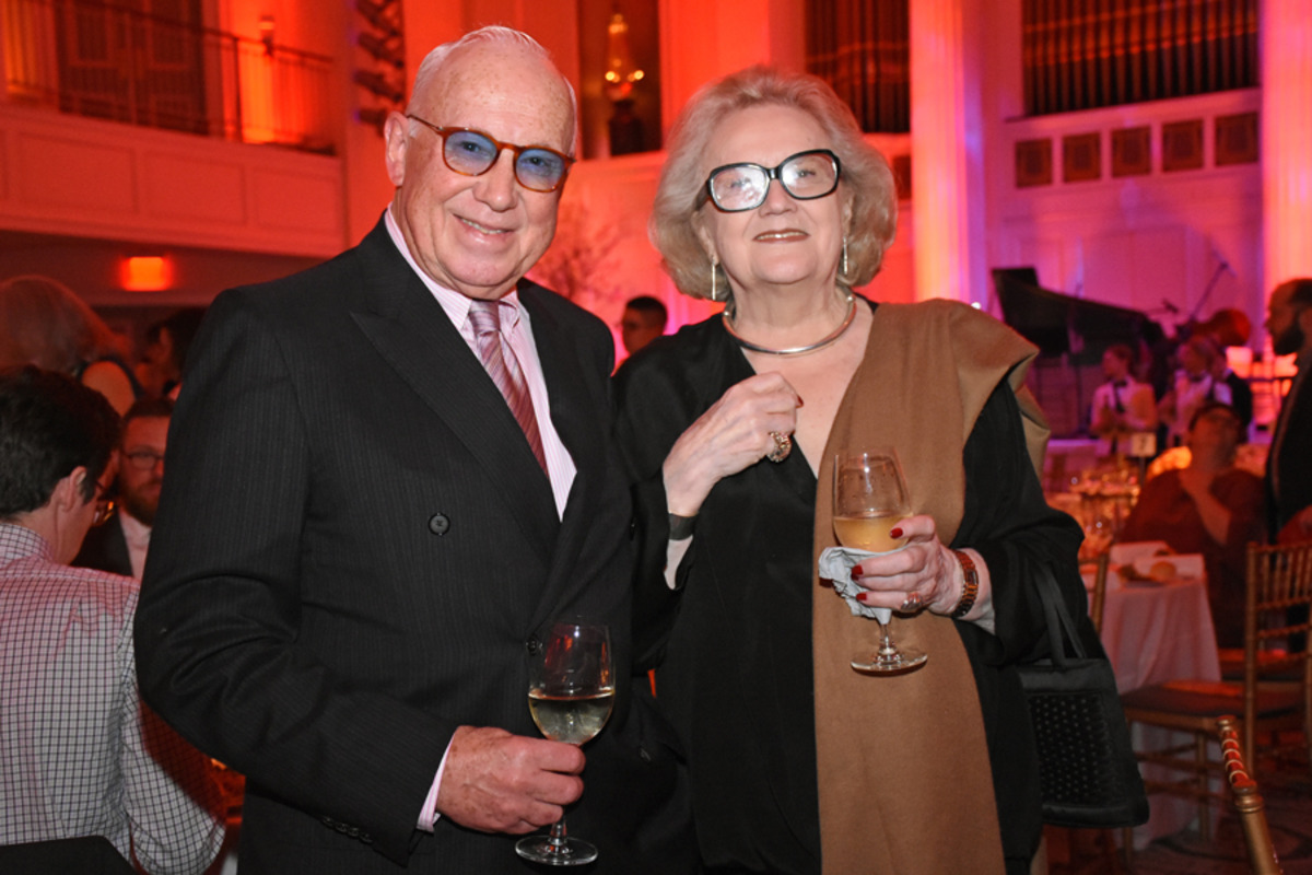 Peter Tear and Angela Istok