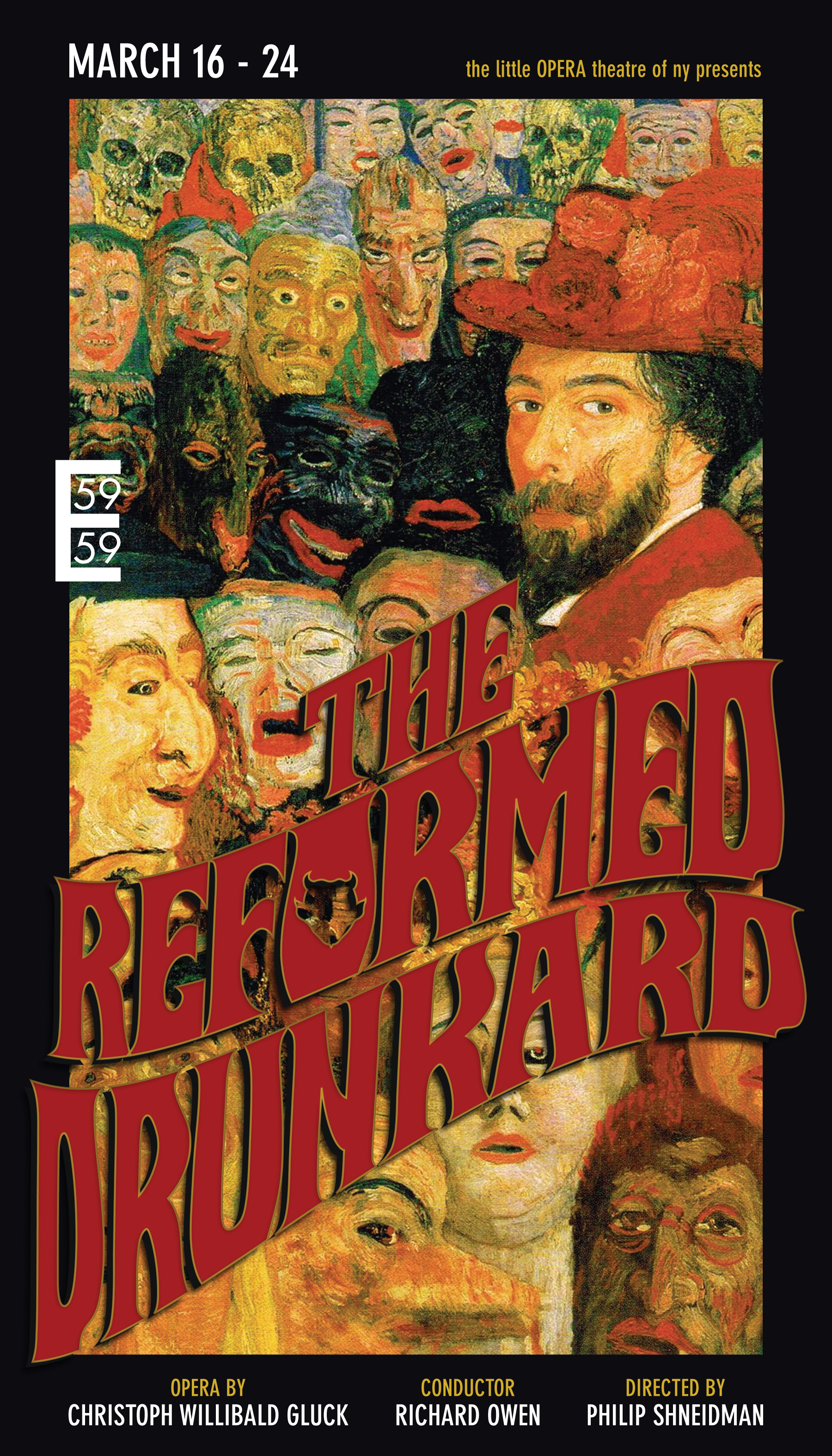 The Reformed Drunkard - by Christoph Willibald Gluck59E59 Theaters, March 2013Read the program!