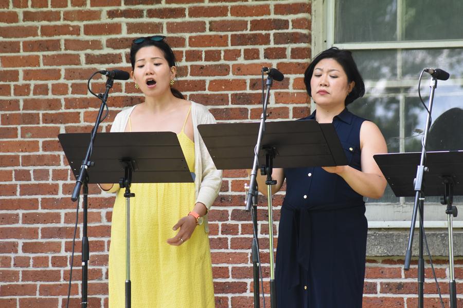 Karen Chia-Ling Ho & Ryu-Kyung Kim - Photo by Tina Buckman