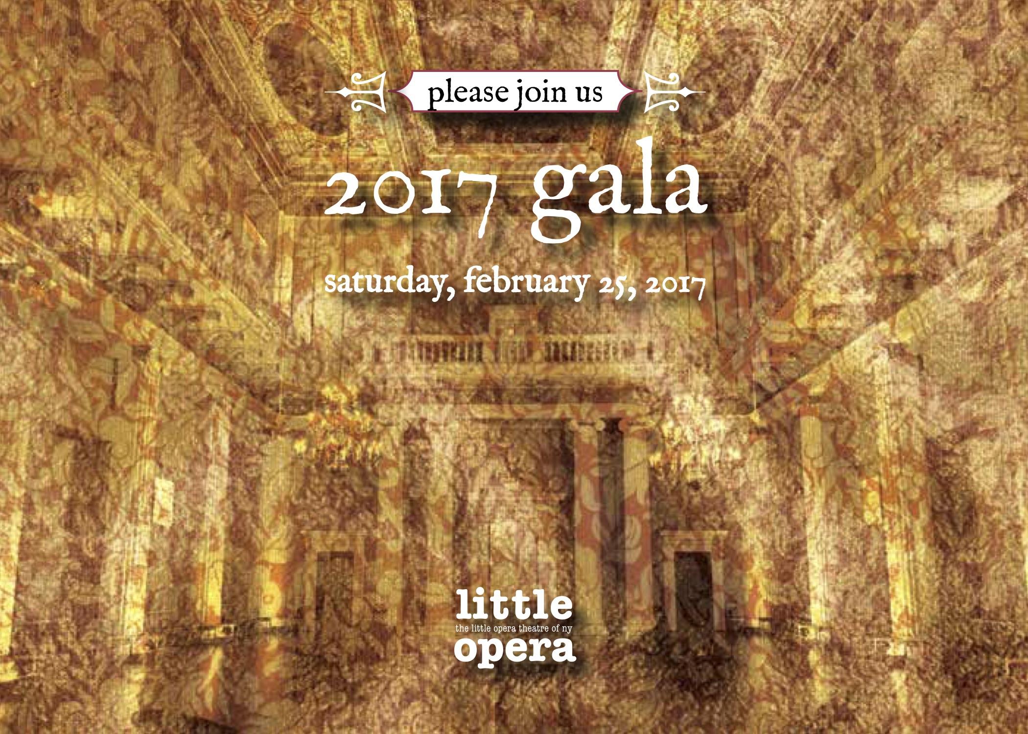 2017 Gala - Saturday, February 25, 2017583 Park Avenue