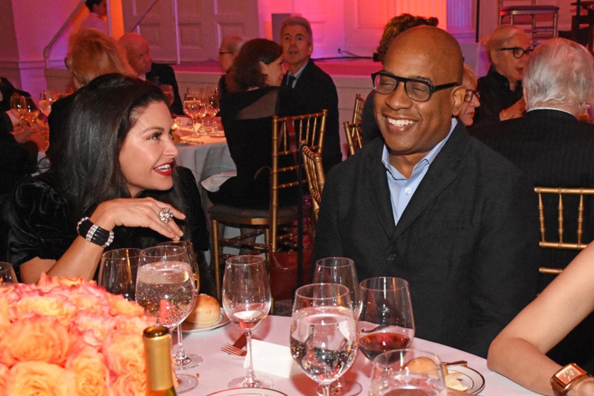 Jemilah Afshar and Glenn Ligon