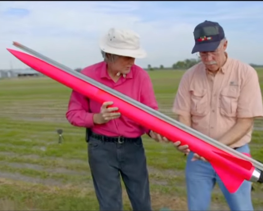 Measuring Rocket - Courtesy of the Discovery Channel