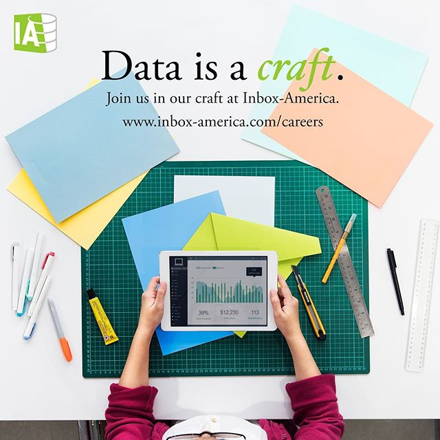 Interested in joining our team of talented strategists and data scientists? Learn more on our website or reach us at contact@inbox-america.com #inboxamerica . . . . . . . #marketing #data #datascience #tech #beautifuldata #consulting #internships #georgetown #bigdata #retail #luxury #frenchluxury #furniture #craft #bigdataanalytics #digitalmarketing #art #dataanalytics #techworld #artificialintelligence #machinelearning #inbox
